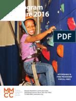 Fall Brochure 2016
