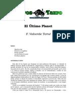 Valverde Torne, F. - El Ultimo Planeta.doc
