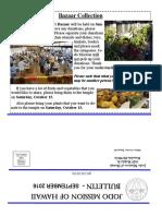 Jodo Mission of Hawaii Bulletin - September 2016