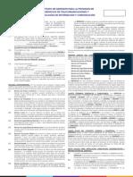 Contrato de Adhesion Para La Provision de Servicios de Telecomunicaciones y Tecnologias de Informacion y Comunicacion