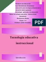 Tecnología educativa instruccional.pptx