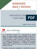 Organizacion de Comunidades