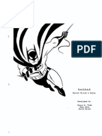 Batman Writers' Guidelines