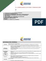 Pr Prea a 12345 Pta Competencia Lectora y Produccion Escrita 20160519