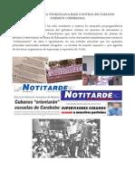 Ángel C. Colmenares E. - POLICÍA POLÍTICA VENEZOLANA BAJO CONTROL DE CUBANOS