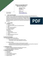 veterinarysciencesyllabusrevised2013 docx