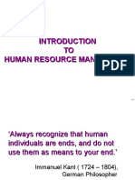 1. Introduction to HRM Edited