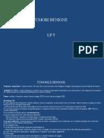 Lp - 5 - Tumori Benigne