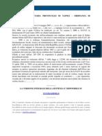 Fisco e Diritto - CTP Napoli Ordinanza n 96 2009