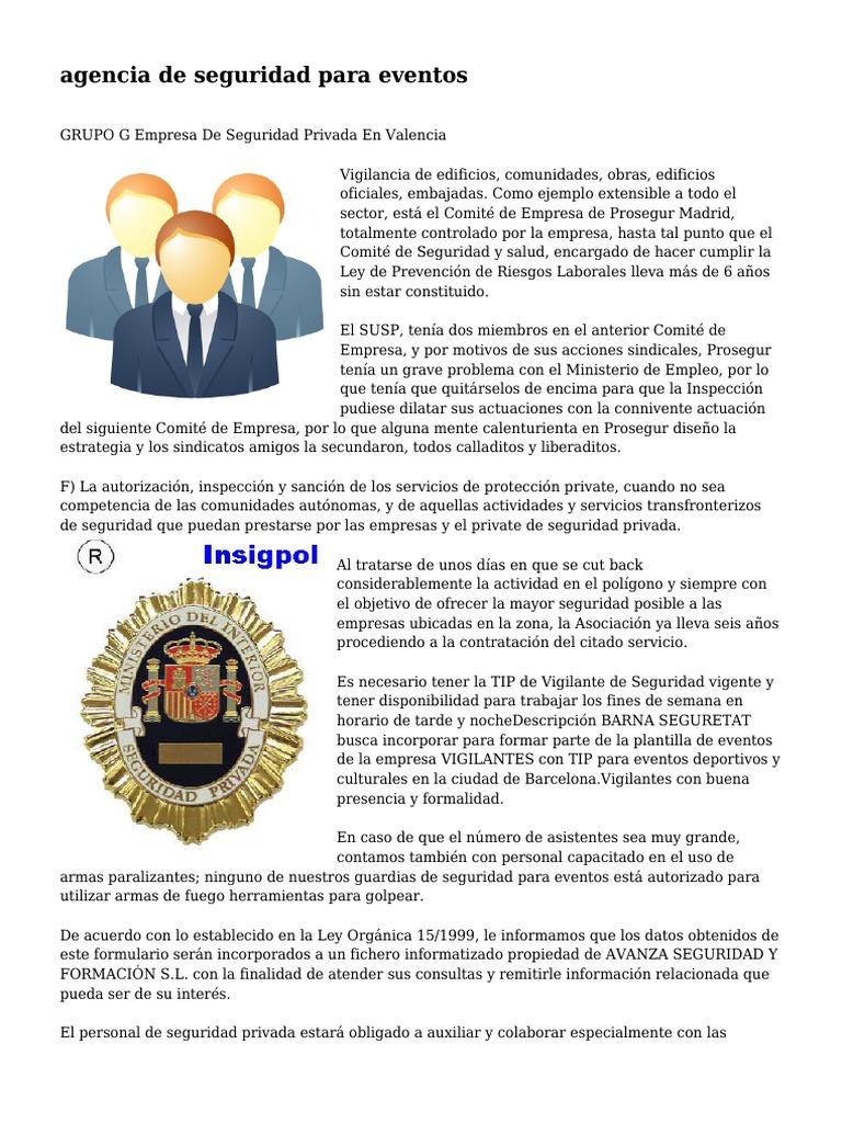 Moderno Guardia De Seguridad De Muestra Reanudar Ninguna Experiencia ...