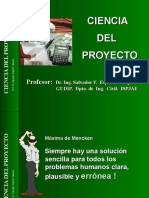 Presentación Ciencia Del Proyecto