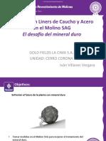 7. Ing. Iván Villanes - Prueba Liners de goma y acero en Molino SAG.pdf