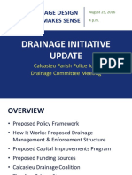 Drainage Initiative Update