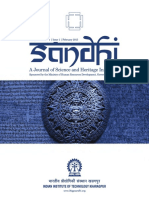 From Sarasvati to Ganga - Michel Danino (SandHI Journal, IITKgp)