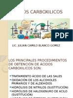 ÁCIDOS CARBOXILICOS 2