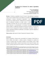 Liga Do Cerrado - identificação de elementos da cultura regionalista presentes na HQ tocantinense