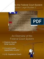 An Overview of the Federal Court System, Joel Leppard, Legal Studies II