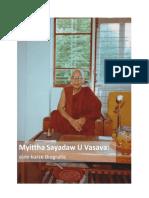 Myittha Sayadaw U Vasava