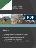 Sosialisasi BLUD-BPKP Puskesmas Malang