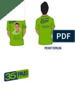 Camiseta Arte Verde 2