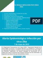 Zica Mayo 2015 Análisis Riesgo