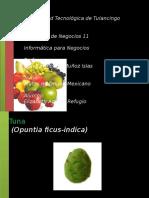 frutas mexicanas