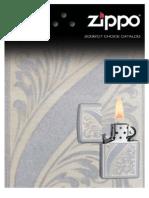 2006/2007 Zippo Lighter Choice Catalog