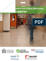 transgender students and school bathrooms - frequently   asked  questions