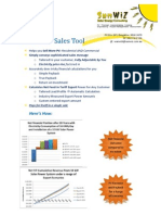 SunWiz PV Sales Tool Marketing