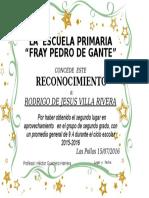 Diploma Rodrigo2016