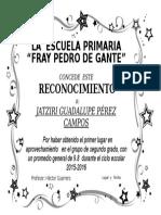 Diploma Lupita 2016