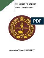 Program Kerja Pramuka Tahun 2016