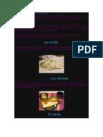 La Comida Tipica de El Salvador