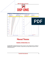 DSP One Manual Tecnico 2005