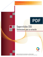 SEP, 2011. Supervisión XXI. Orientaciones Para Su Actuación