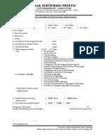 Form Prauji Kompetensi Pengawas Operasional Revisi