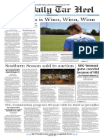 The Daily Tar Heel for Aug. 26, 2016
