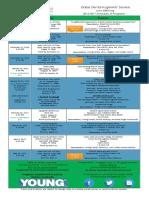 2016-2017 Schedule of Programs