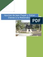 Aportes de Jean Piaget a la Matematica- Educacion Inicial