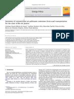Inventory of Conventional Air Pollutan Rio de Janeiro