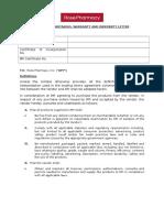 _Supplier Undertaking Warranty and Indemnity Letter 19Jan2016