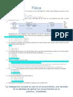 Guía Para La Preparación al examen de admisión