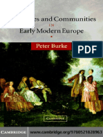 PBurke Languages and Communities in Early Modern Europe