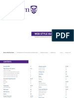 Western Web Style Guide