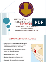 Situacion Actual Del Serums en La Region SM Abril 2015