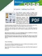 Call on Bajaj Electricals