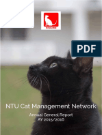 Annual General Report for the Cat Management Network 2015/2016