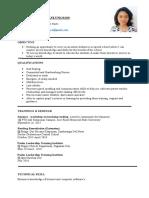 Aica's Curriculum Vitae (1)