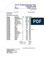 3023 Lister Parts Invoice