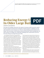 Reducing Energy Use in Older Large Buildings
